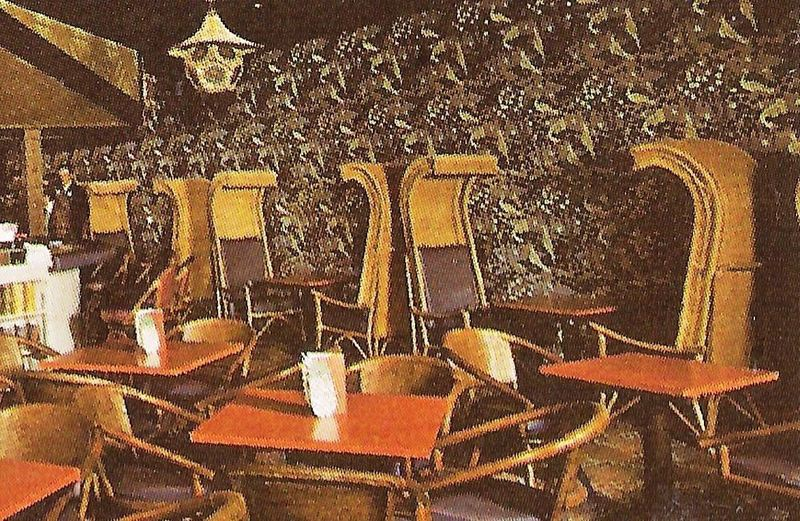 Chairs In The Dining Area Seen A Postcard From Honolulu Restaurant Westborough Ma
