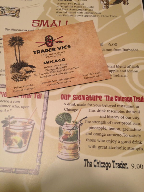 Trader Vic\'s in Chicago, IL | Critiki